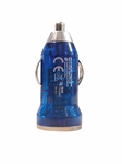 Atomic Micro 1.0A 5W Single Port USB Car Charger - Blue