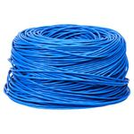 Battleborn C6-1KSBLU 1000 Foot Cat6 Solid Copper Ethernet Cable (Blue)