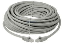 BattleBorn Cable C6MBCCA-100GY 100ft Cat6 Ethernet Patch Cable Grey