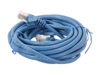 Belkin A3L791-15-BLU-S Cat5e Network Cable - RJ-45 Male Network - Male Network - 15ft - Blue SNAGLESS ROHS