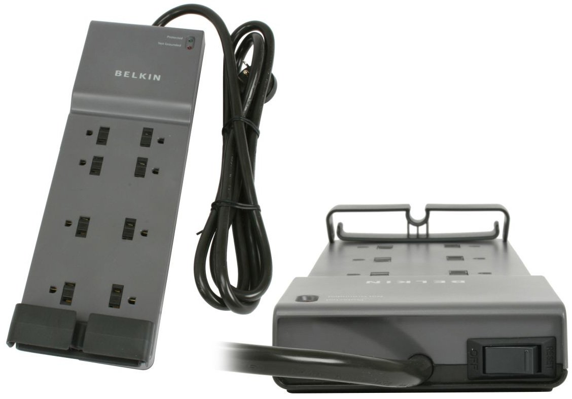 Belkin Be108200 06 8 Outlet Home Surge Protector With 6 Foot