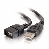 C2G 6 foot Male USB to Female USB Extender Cable