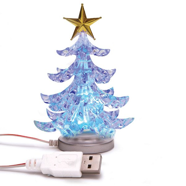 add review for usb christmas tree