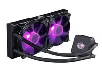Cooler Master MasterLiquid LC240E RGB All-in-one CPU Liquid Cooler with Dual Chamber Pump Latest IntelAMD Support MLA-D24M-A18PC-R1