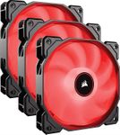 Corsair AF Series AF120 LED (2018) CO-9050083-WW 120mm Red LED Case Fan, 3-Pack