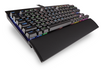 CORSAIR CH-9110010-NA K65 LUX RGB Compact Mechanical Gaming Keyboard - Cherry MX RGB Red