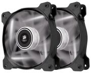 Corsair CO-9050016-WLED Air AF120 White LED QE 120mm Case Fans 2-Pack