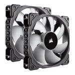Corsair CO-9050039-WW 120mm ML120, 120mm Premium Magnetic Levitation PWM Fan (2-Pack)