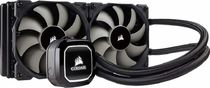 Corsair Hydro Series H100x Extreme Performance Liquid CPU Cooler 240mm CW-9060040-WW