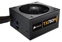 Corsair TX750M Enthusiast 750W 80+ Bronze Certified Semi-Modular ATX Power Supply