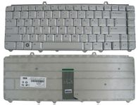 Dell Replacement Laptop Keyboard for Inspiron 1420, 1520 (Silver)