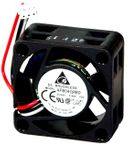 Delta 40mm Case Fan w/ 3-Pin Fan Power Connector - 40x20mm