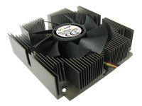 Gelid CC-S Silence-iPlus Intel Compatible 1u CPU Cooler with 75mm Fan
