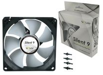 GeLid N-SX-09-15 Silent9 92mm Ultra-Quiet Shock Absorbing Case Fan