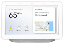 Google Home Hub 7-inch Touchscreen Smart Display Personal Assistant - (Chalk)