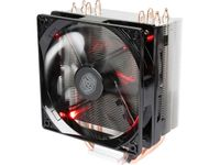 Cooler Master Hyper 212 LED with PWM Fan, Four Direct Contact Heatpipes, Red LEDs RR-212L-16PR-R1