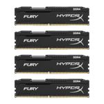 Hyperx Fury 16gb (4 X 4gb) 288-pin Ddr4 Sdram Ddr4 2133 (pc4 17000) Hx421c14fbk4/16