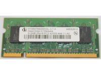 Infineon Hys64t64020hdl-3.7-a 512mb Notebook Sodimm Ddr2 Pc4200(533)