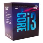 Intel Core i3-8100 Coffee Lake Quad-Core 3.6 GHz LGA 1151 (300 Series) 65W BX80684I38100