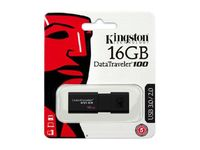 Kingston DT100G316GB DataTraveler 100 G3 16GB USB 3.0 Flash Drive