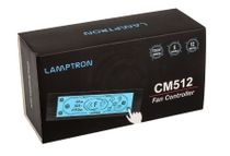 Lamptron CM512 Touchscreen Fan Controller - Black