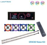 Lamptron CR430 Nasa Kit Red (Including 1pc CR430 4pcs RGB Fans, and 2pcs RGB Flexlight Strips)
