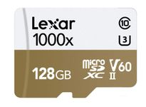 Lexar Professional 128GB MicroSDHC UHS-II Memory Card (Up to 150MBs Read) with USB 3.0 Card Reader (LSDMI128CBNL1000R)