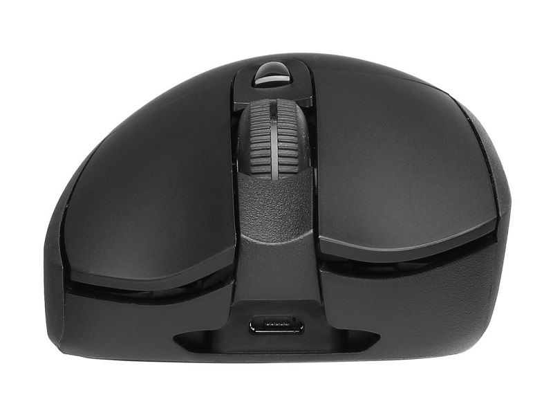 Logitech - G703 Wireless Optical Gaming Mouse with RGB Lighting - Black