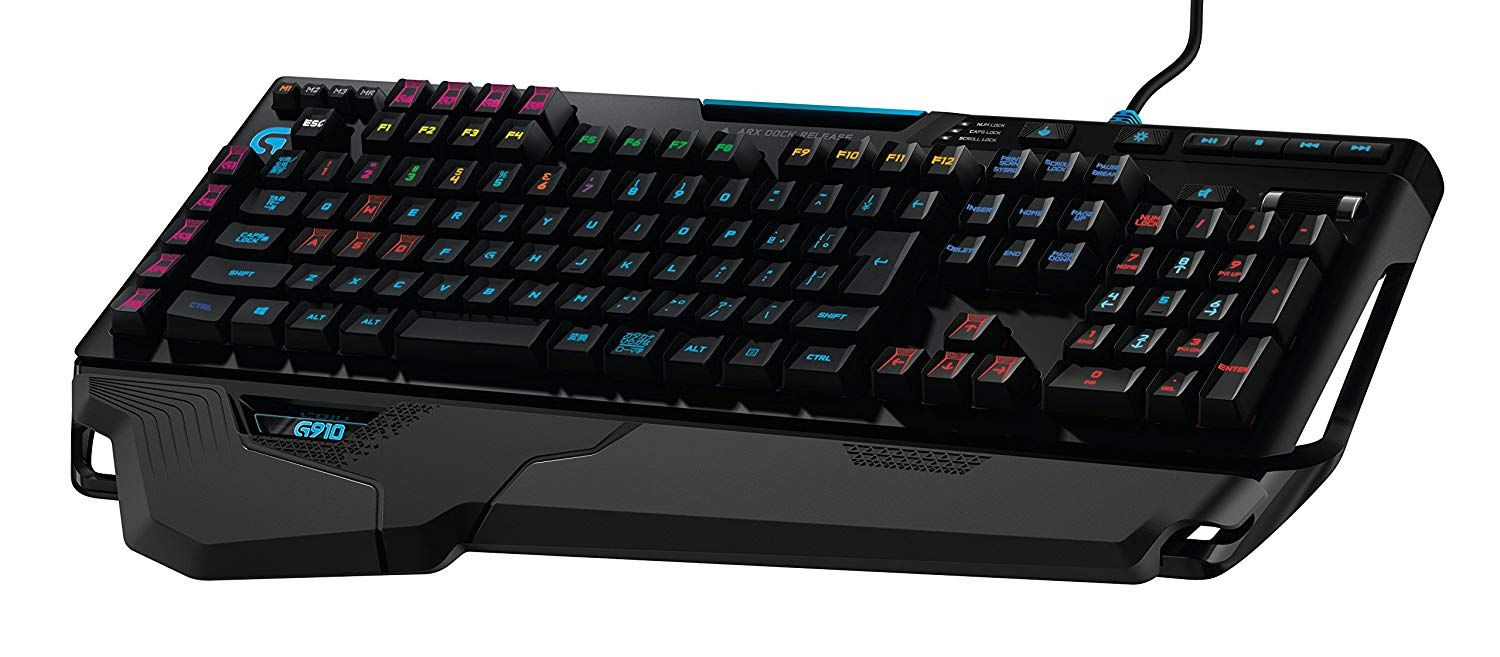 4c65128bc8b ogitech G910 Orion Spectrum RGB Keyboard | FREE Shipping