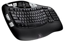 Logitech 920-001996 K350 2.4Ghz Wireless Keyboard