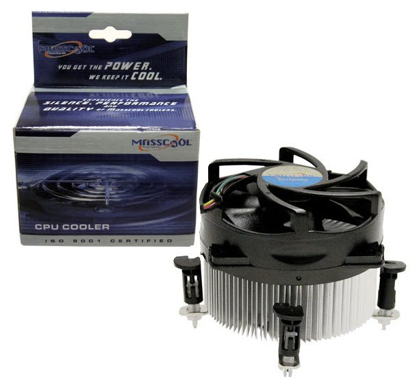 MASSCOOL 8W501B1M3G  90mm Ball CPU Cooler