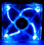 Masscool BLD-09025S1M 92mm 45CFM Blue LED Case Fan w/ 3+4pin Connector