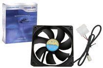 Masscool 120mm High Airflow Case Fan with 3+4pin Plug