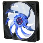 Masscool FDVB12025L1L 25.0 dBA 3/4-Pin 120mm Case Fan (Blue)