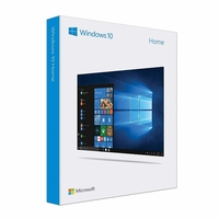 Microsoft Windows 10 Home 32/64-bit Creators Update - Box Pack USB Flash Drive - KW9-00475