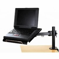 MonMount Adjustable Laptop Desk Stand / Laptop Arm Mount