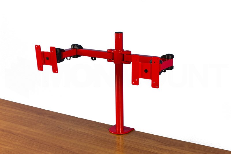 Dual Monitor Stand Clamp Lcd 194r Free Shipping