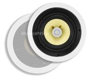 MonoPrice 4104 In-Ceiling 8-Inch 2-Way Kevlar Speakers (PAIR)