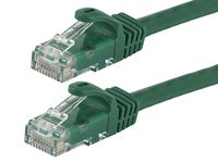 Monoprice 50 Foot Green FLEXboot Cat5e UTP Ethernet Network Patch Cable