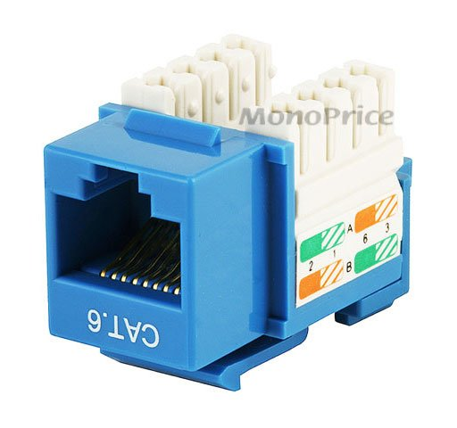 Monoprice 5379 Punch Down Cat6 Keystone Jack