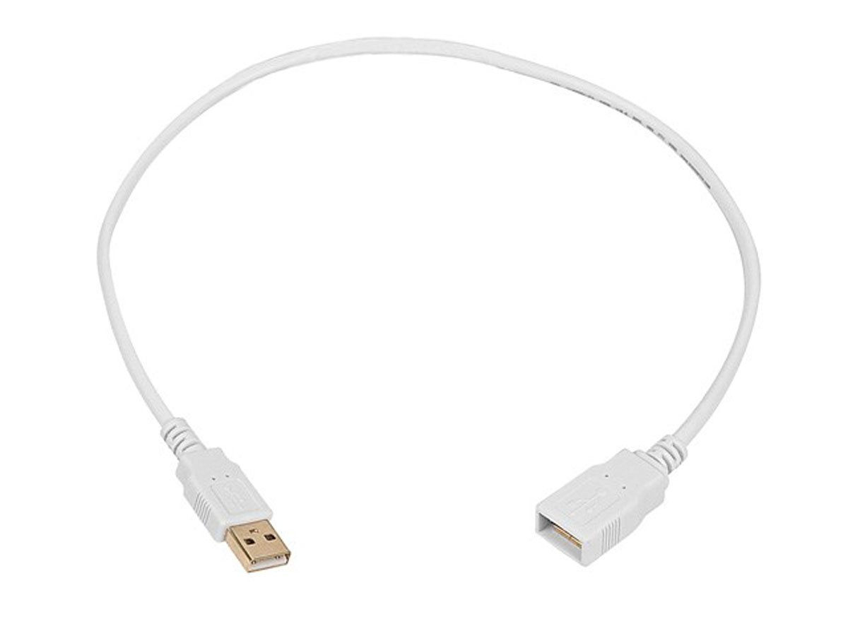 Coboc CL-U2-AAMF-15-BK 15ft High Speed USB 2.0 A Male to A Female Extension Cabl