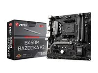 MSI Arsenal Gaming B450M Bazooka V2 AM4 AMD B450 SATA 6Gbs USB 3.1 HDMI Micro ATX AMD Motherboard