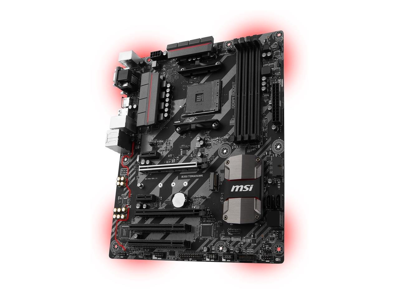 Msi B350 Tomahawk Am4 Amd B350 Sata 6Gb/S Hdmi Atx Motherboard