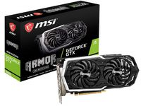 MSI GeForce GTX 1660 DirectX 12 GTX 1660 ARMOR 6G OC 6GB 192-Bit GDDR5 PCI Express 3.0 x16 HDCP Ready Video Card