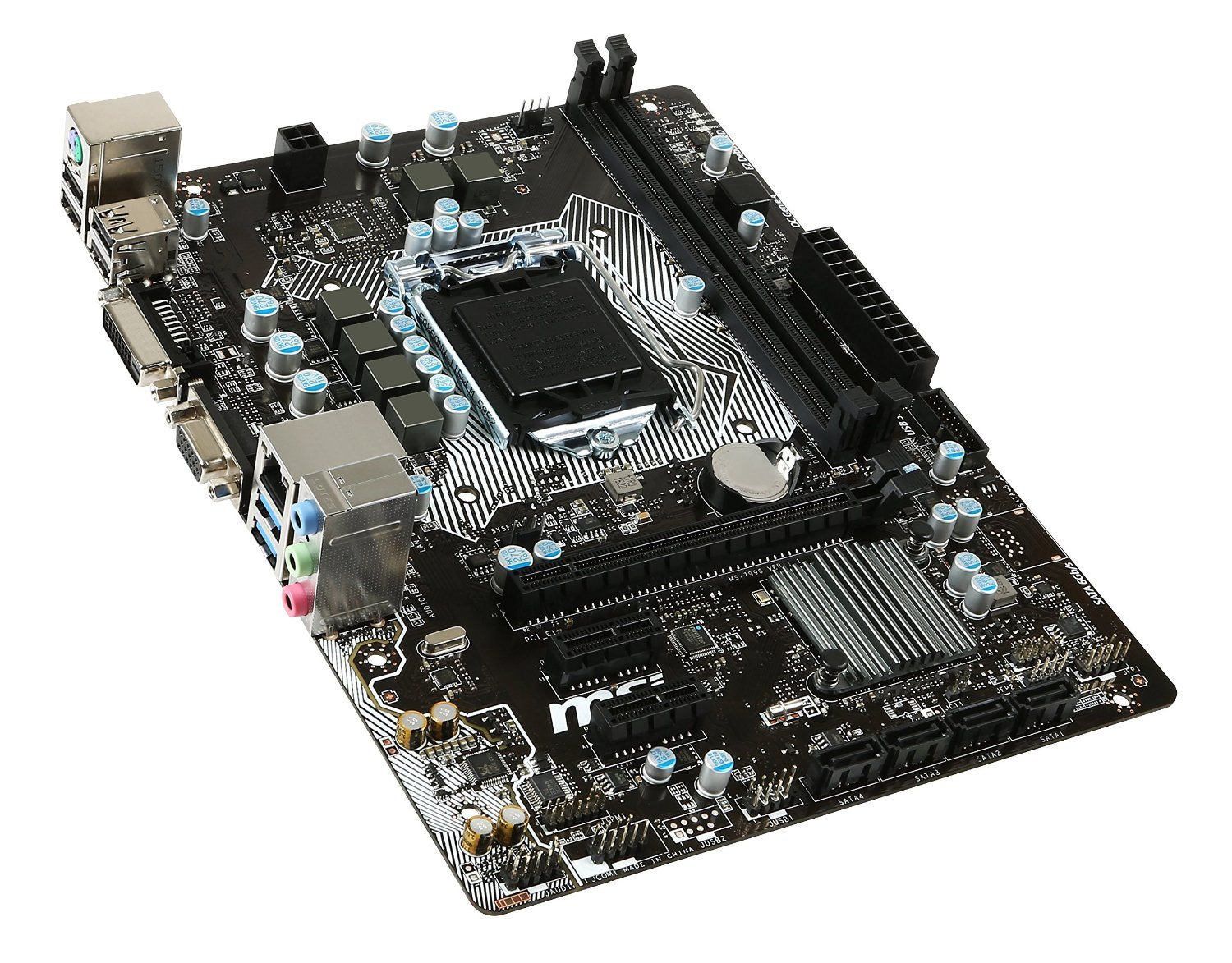 Atx Motherboard Diagram Labeled With This Motherboard Is