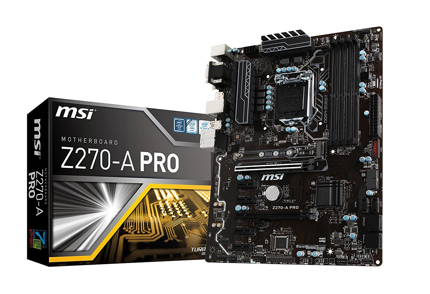 Msi Z270 A Pro Lga1151 Motherboard Sale 16989 Help Wiring Monoprice Cat6 Patch Panel Hard Forum Add Review For
