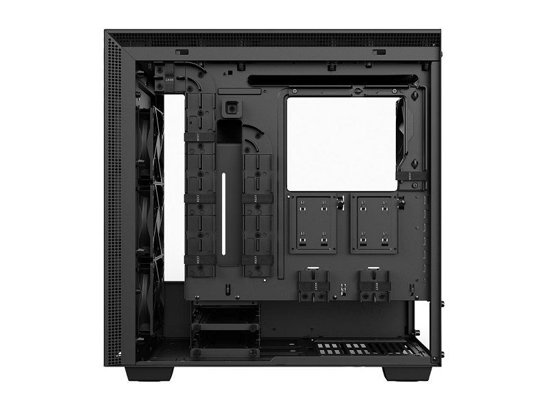 ATX Mid-Tower PC Gaming Case NZXT H700 Tempered Glass Panel Enhanced Cable
