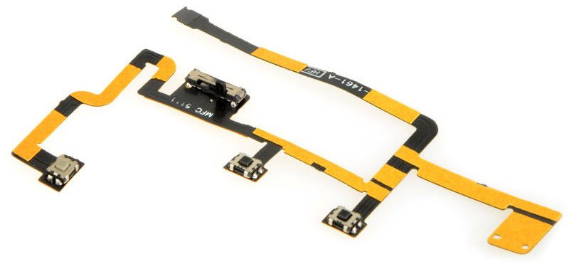 Power and Volume Button Flex Cable for iPad 2 A1395/EMC 260 MC769LL/A