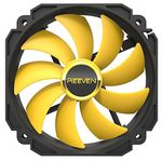 Reeven Coldwing 14 High Airflow 140mm CPU/Case Fan 300~1700rpm/PWM Contro