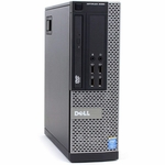 Refurbished Dell Optiplex 9020 SFF Desktop Windows 10 Pro 64 bit Intel Core i5 4590 Quad Core Processor 4GB DDR3 RAM 240GB SSD